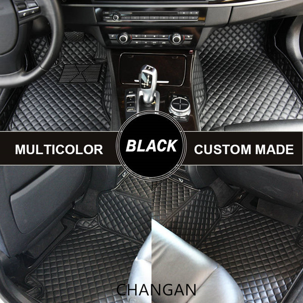 Custom Car Floor Mats for CHANGAN CS35 Luxury Car Mats Auto Mat Tapete Carro Universal Alfombras Coche Alfombrilla Coche