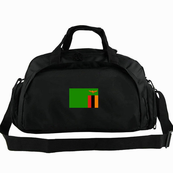 Zambia duffel bag Africa hot Republic of flag tote ZMB 2 way use backpack National banner luggage Trip shoulder duffle Sport sling pack