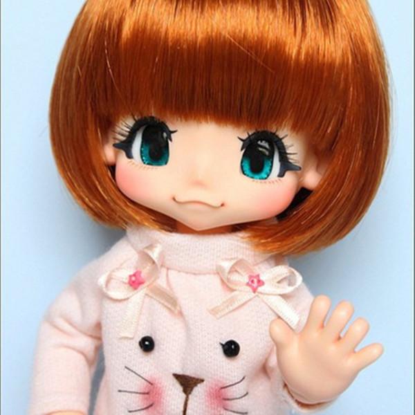Boneca sd bjd kinoko Suco Kiki 1/6 corpo modelo reborn bebê meninas bonecas olhos de Alta Qualidade