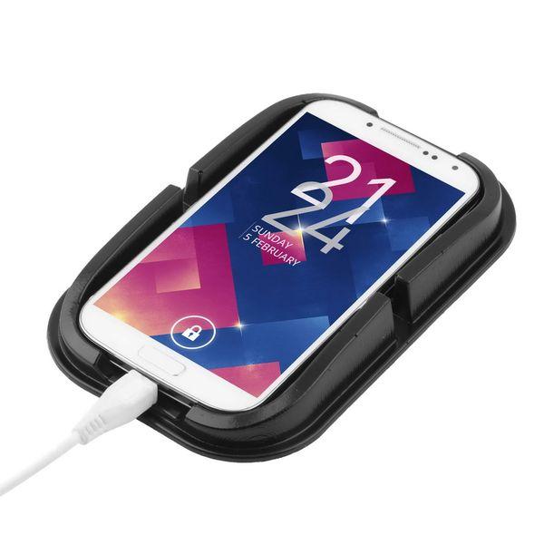 Multi-functional car Anti Slip pad PU gel Mobile Phone Shelf Non slip Mat For GPS/IPhone/ Cell Phone Holder 300pcs/lot