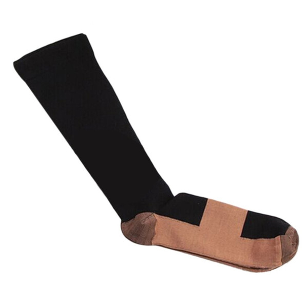 Unisex Man woman Sports Socks One pair Unisex muscles Compression Sports Socks Anti-Fatigue Pressure Point free shipping