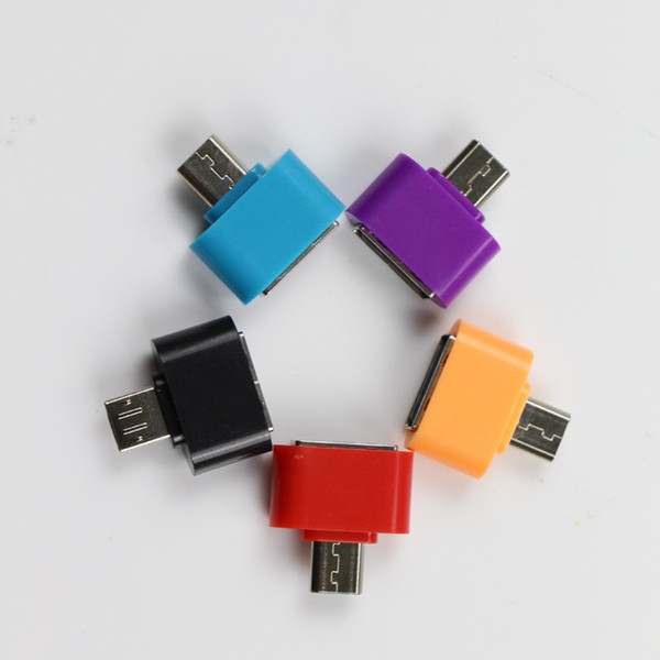 Convertitore Micro USB A USB OTG Adapter 2.0 per Android Adattatore per Samsung Galaxy S3 S4 S5 Tablet PC USB Otg