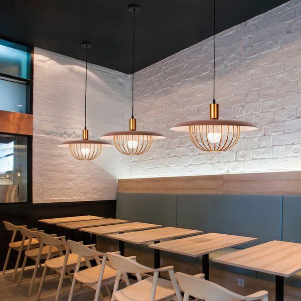 Großhandel Nordic Macaron Wohnzimmer Kronleuchter Minimalistische  Atmosphäre Schmiedeeisen Esszimmer Lampe LED Persönlichkeit Schlafzimmer ...
