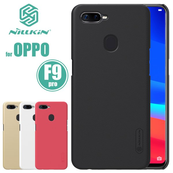OPPO F9 Case Nillkin Super Frosted Shield Ultra-Thin Capa OPPO F9 Pro Hard Back PC Cover Case for OPPO F9 Pro Nilkin Phone Case
