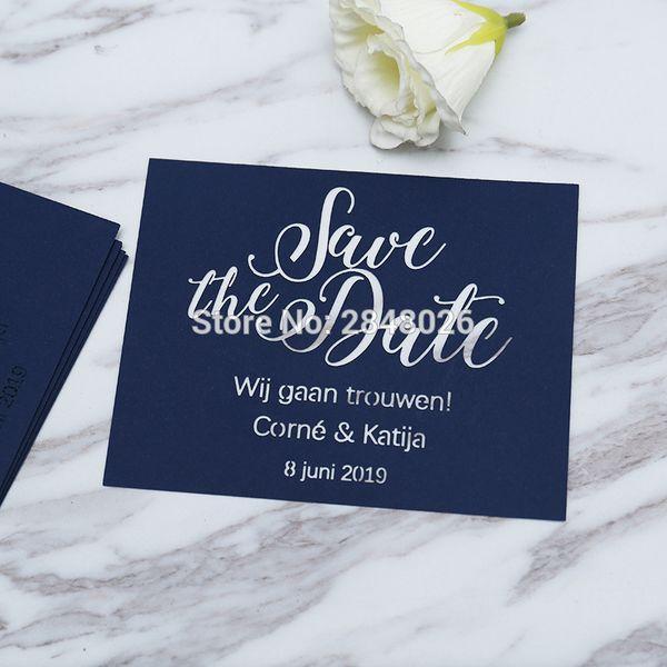 Laser Cut Navy Blue Save The Date Laser Cut Wedding Save The Date Cards Wedding Invitation Cards Islamic Wedding Invitations Jewish Wedding
