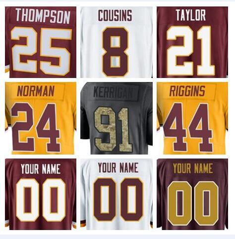 sports shoes 04e5c 8ede5 2018 2018 Washington Alex Smith Redskins Jerseys Ryan Kerrigan Sean Taylor  Green Anthracite Olive Salute To Service American Football Jersey From ...