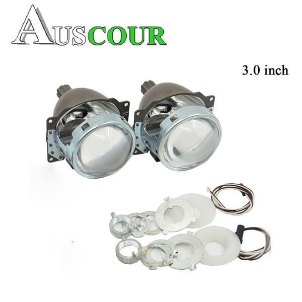 3.0 inch bixenon HID projector lens Koito Q5 35W Xenon Bulb headlamp for H1 H4 H7 H11 9005 9006 Modify universal car assembly