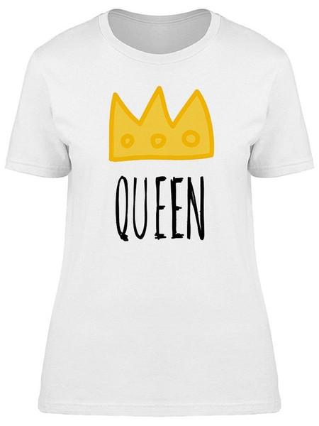 Camiseta da Rainha Dourada Coroa Feminina - Imagem por Shutterstock