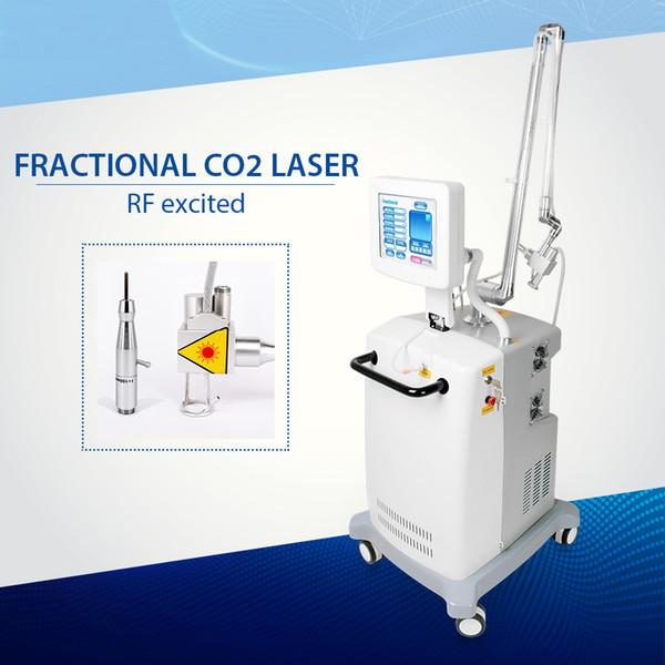 traitement partiel de laser de laser de CO2 de resurfaçage de peau retrait de cicatrice resserrement et blanchiment de la peau traitement de l'acné
