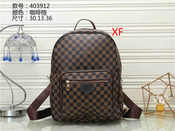 2019 new high quality men and women boutique backpack mini PU children backpack women's printed leather backpack