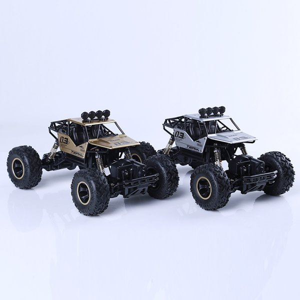 Manufacturer's direct selling remote control alloy cross-country four-drive climbing car wireless remote control racing bipedal