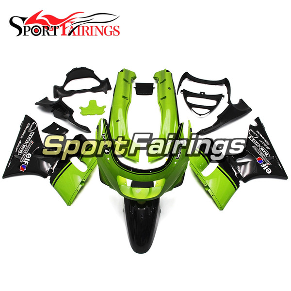 New Green Black Bodywork For Kawasaki ZZR-400 Year 1993 - 2007 Plastic Complete ABS Injection ZZR-400 1993 - 2007 Motorcycle Cowlings