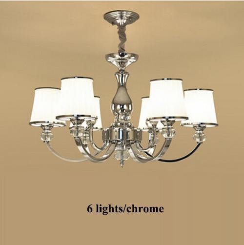 6 ampoules chauffantes chromées