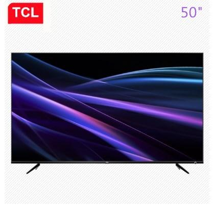 TCL 50-inç Kesintisiz Ultra ince Yapay Zeka Quick View Conchs Hi-Fi TV Ultra HD 4K TV Ücretsiz Kargo ses
