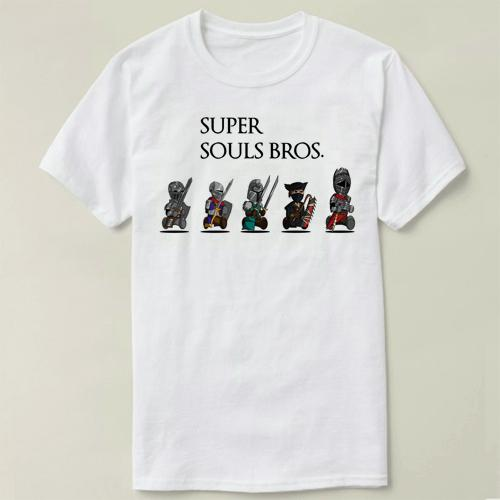 Dark Souls Bloodborne GAME Men Clothes short Sleeve Slim Fit T Shirt Men Cotton T-Shirt Casual T Shirts cmt