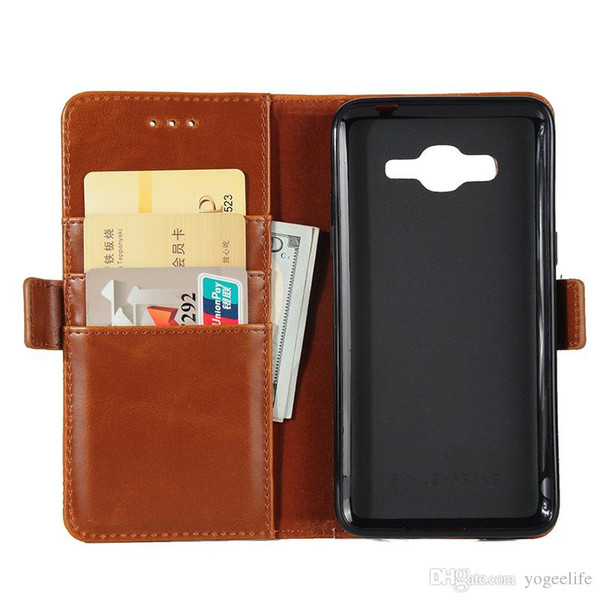 Wallet Credit Card Stand Leather Case For SAMSUNG GALAXY A3 A5 J1 ACE J2 J310 J510 S4