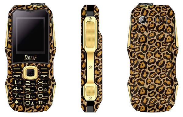 "DBEIF F9mini long standby 1.5"" screen daul SIM card bluetooth flashlight FM radio MP3 4800mAh power bank mobile cell phone"