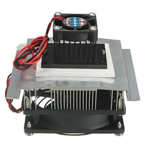 Refrigerador termoel/éctrico peltier 12v,termoelectrico peltier refrigeraci/ón kit semiconductor Sistema de ventilador