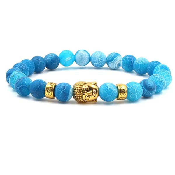 Gold blau