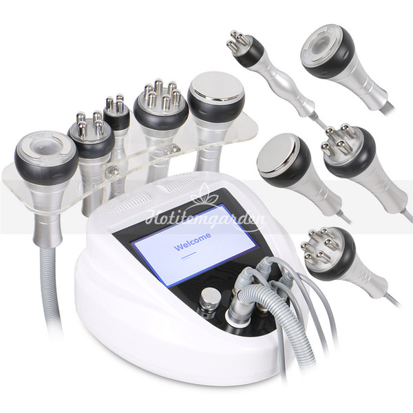 Portable cavitation rf machine radio frequency vacuum slimming rf face lift body shaping Beauty salon equipment