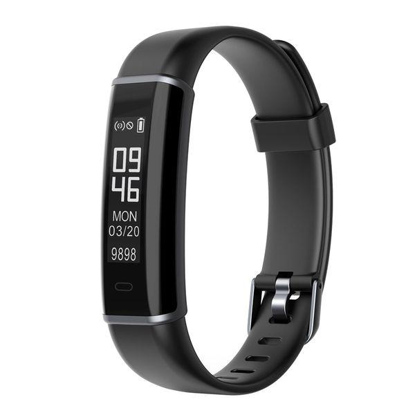 Inteligente pedômetro Sports relógio de pulso Calories Calculator Bluetooth Step Counter banda para passeio de funcionamento