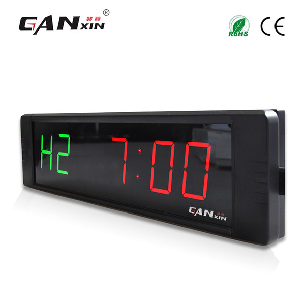 "[Ganxin]1"" Good Price and High Quality Small Wall Mounted Led Digital Gym Timer Training Rest Time Alternate"