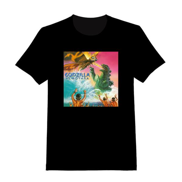 Godzilla vs Mothra # 3 - T-shirt adulta feita sob encomenda (159)