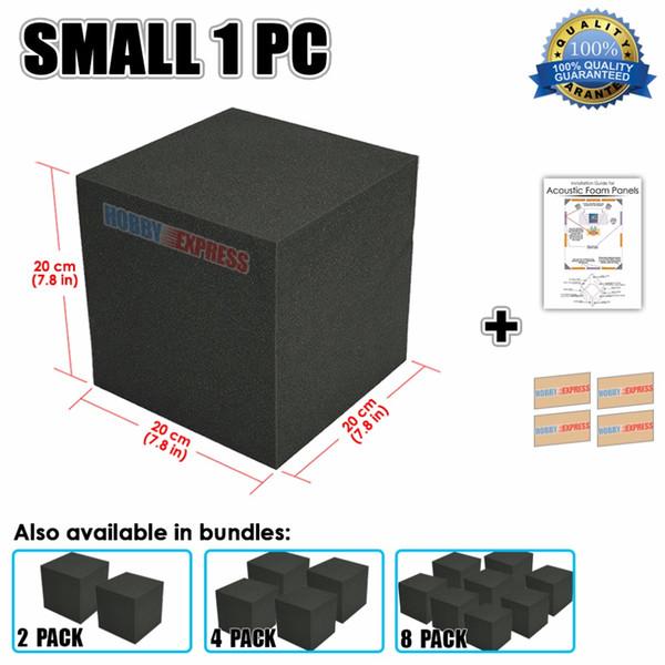 Arrowzoom угловой акустический куб бас ловушка блок студия звукоизоляция пены 20x20x20 см (7,8 х 7,8 х 7,8