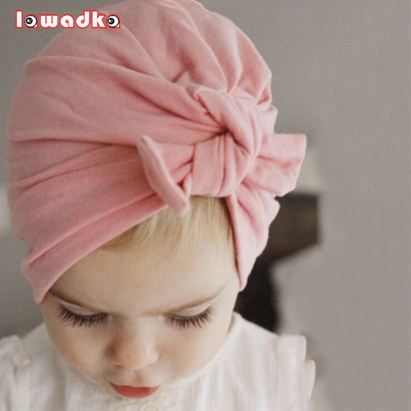 Весна осень Енот детские Hat для девочек мальчиков новорожденных Богемия стиль детские Hat аксессуары