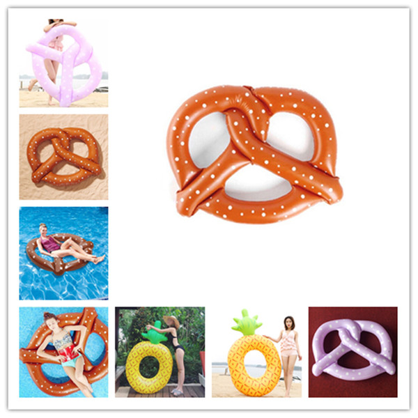 Inflatable Flamingo Floats Swimming Pool Toys Bread swan pineapple Floats Swim Ring Inflatable Flamingo Pool Toy Water Toys