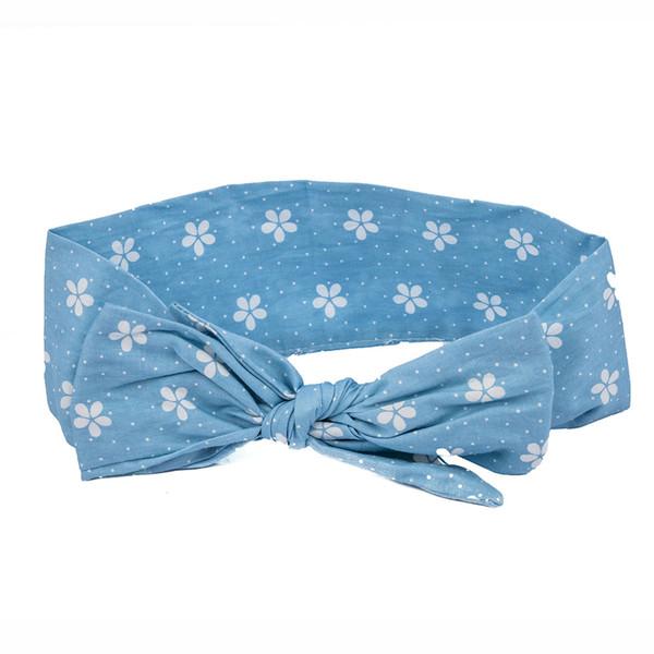Newborn Infants Girl Bow Knot Accessories Bow Headband Hair Band Accessories Headwear Head Wrap Girl Fashion Rabbit Ear