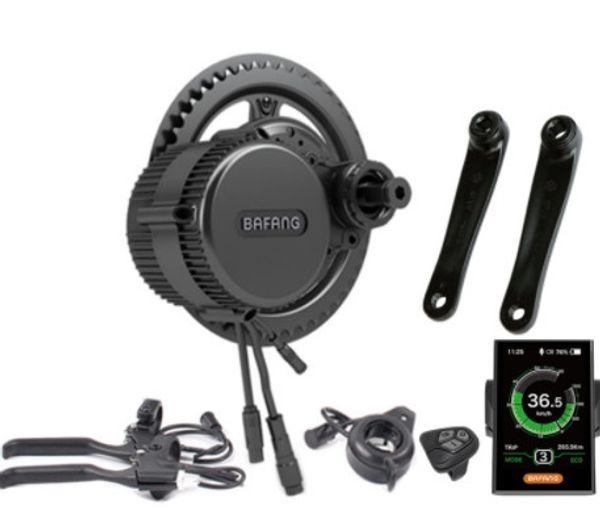 Bafang BBS02B 36V 500W Ebike Motor with C965 LCD bafang mid drive Electric Bike conversion kits