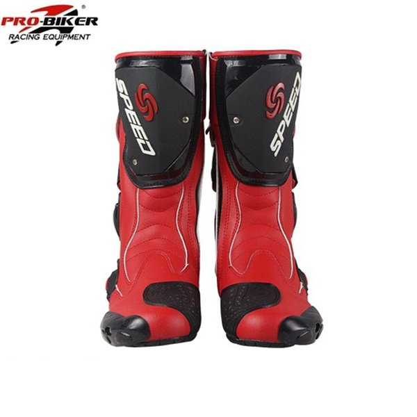 Free shipping 1pair Hotsale Motorcycle Offroad Motorbike MXGP Racing SPEED Sport Leather Motorcycle Boots Shoes
