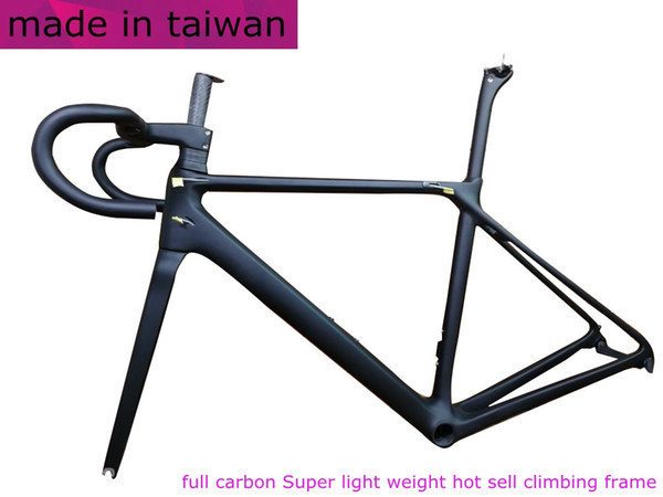 2018 new CF SLX T1000 TOP carbon road bike frame bicycle racing bike frameset + handlebar disc brake carbon fibre frame BB86