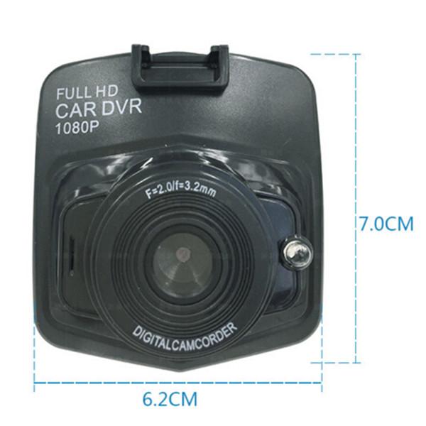 Sıcak öğe mini auto car dvr kamera dvr full hd 1080 p park kaydedici video registrator kamera gece görüş