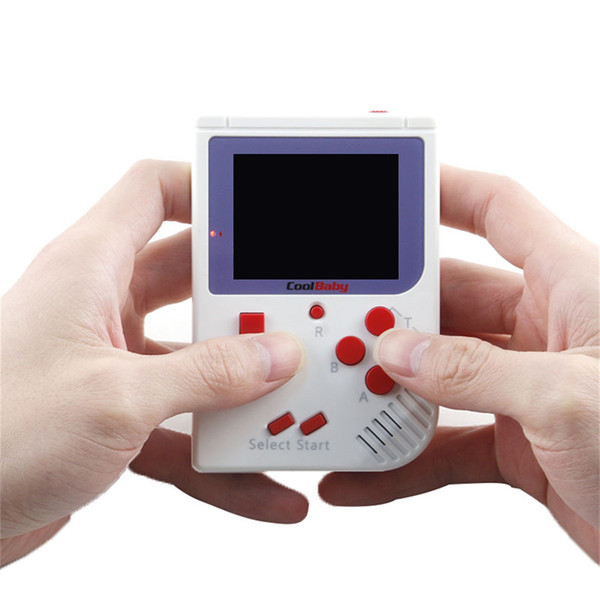 CoolBaby RS-6 Portable Retro Mini Handheld Game Console 8 bit Color LCD Game Player For NES FC Game Players