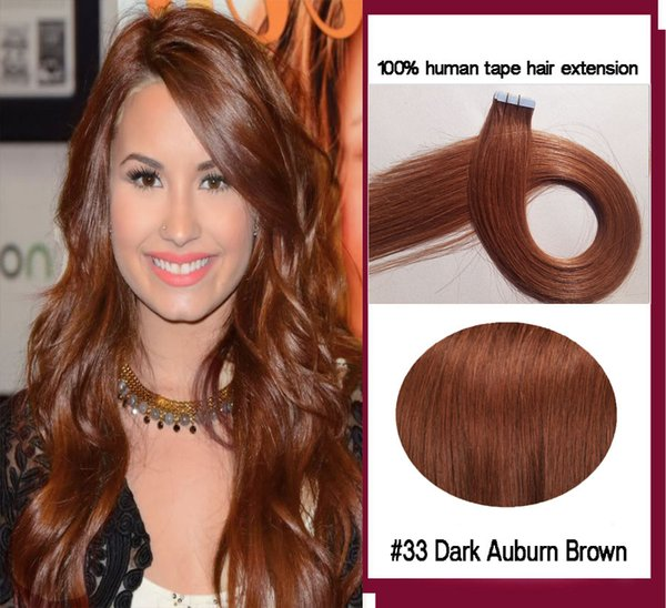 # 33 Dark Auburn Brown