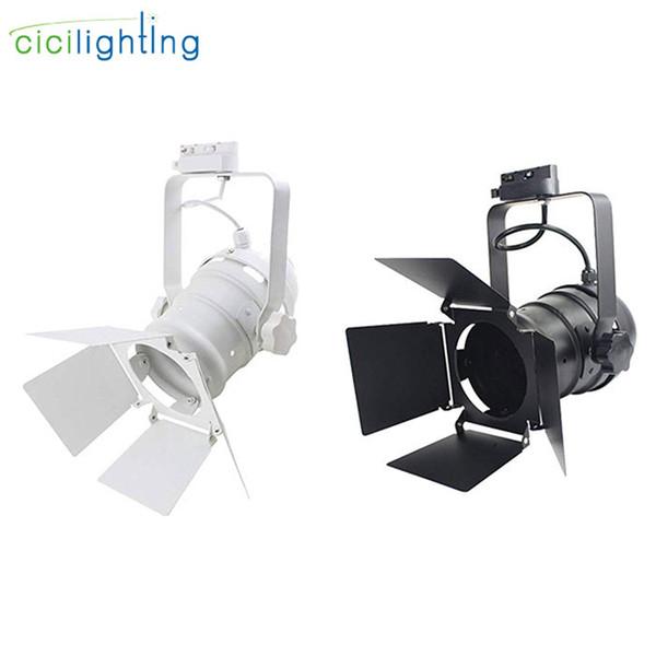 Luz de riel LED industrial Ropa Tienda Ventanas Showrooms Exposición Proyector COB LED Techo de riel Lámpara de spot para bar etapa