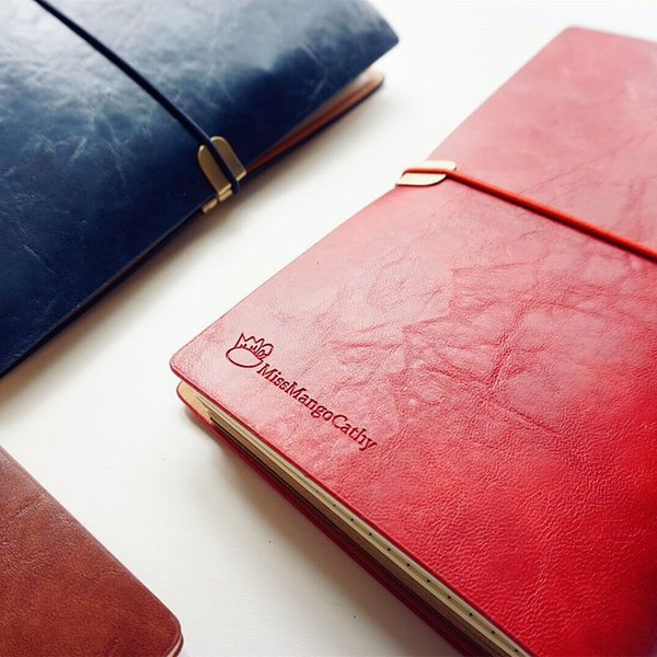 """""""Mango Journal"""" Soft Faux Leather Diary Travel Notebook Business Study Freenote Notepad Stationery Gift"""