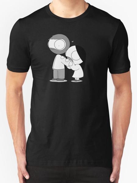 T-shirt uomo New Love Bite taglia S - 2XL Novità 2018 Fashion Stranger Things T Shirt Uomo