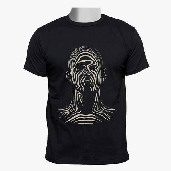 Elevadores Personalizado Homens Camisa Preta de T Tamanho S-3XL Camiseta Mens 2018 Nova Impressão Homens Adultos Slim Fit T-Shirt Top Tee