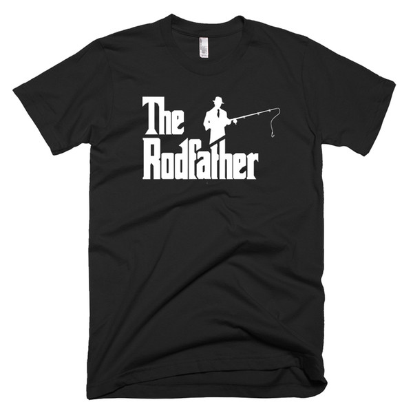 Rodfather Komik Balıkçılık T-Shirt, Komik Hediye için balık-erkek Komik T-SHIRTSjersey Baskı t-shirt