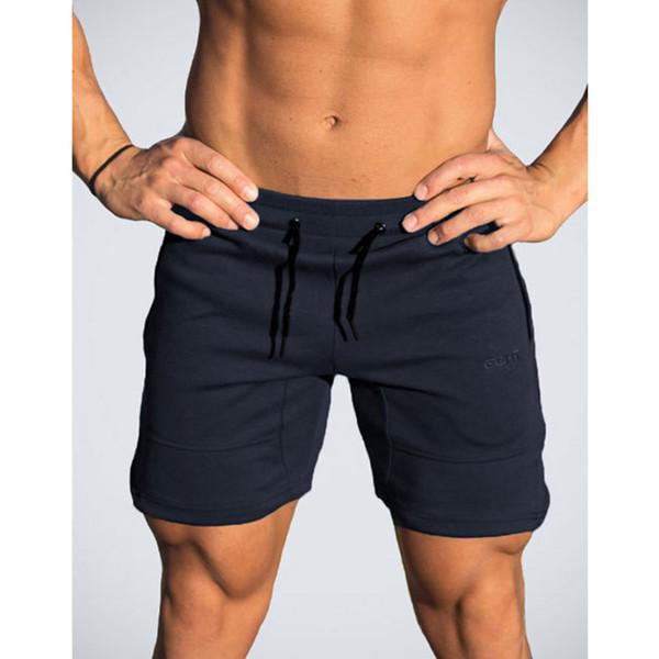 Moda Kalite Erkekler Altınları Marka Spor Şort Mens Profesyonel Vücut Geliştirme Kısa Pantolon Gasp Büyük Boy M L XL XXL