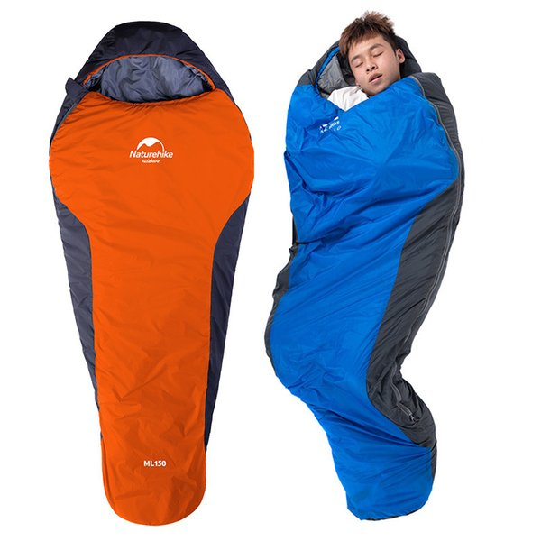 Camping Sleeping Bag Envelope Mummy Outdoor Lightweight Portable Waterproof Perfect for Traveling Hiking Activities 2 Styles H225Q