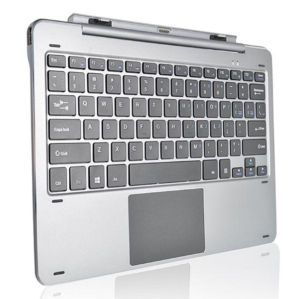 Multi Mode Drehwelle Aluminiumlegierung Tastatur für Chuwi Hi12 Magnetische Docking Pogo Pin Separable Design Tastatur Ersatz