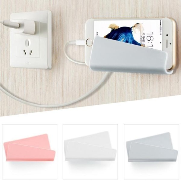 TOP sell WHOLESALES Voguish fantastic Wall mobile phone rack dull polish Charging bracket # gongdajiong #414 FOR Cell Phone Mounts & Holders