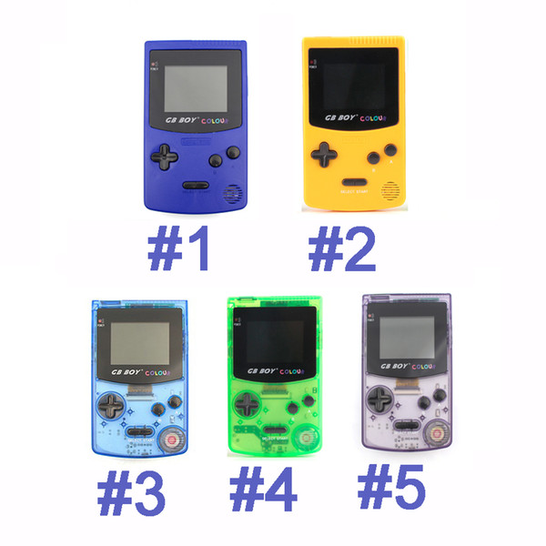 best selling GB Boy Classic Color Colour Handheld Game Console 2.7