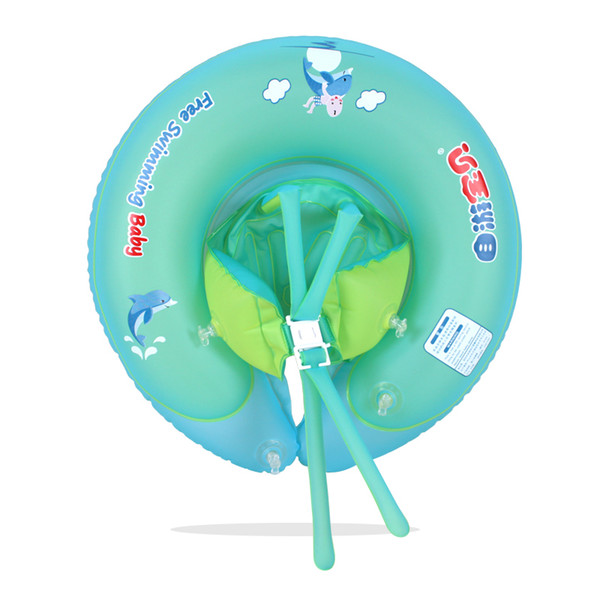 Hot Sale Removable Seat for A New Baby Swim Ring with Inflatable Swimming Pool Accessories Unisex Cute Baby Ring Float