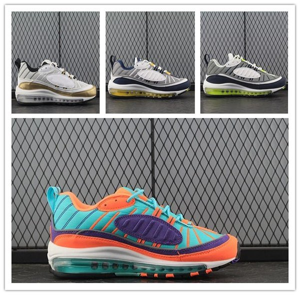 2018 New Air98 QS Cone Women Mens Running Shoes Tour Yellow Hyper Grape 98s Vibrant Trainers Sport Sneakers Eur 36-46 free shipping excellent low price fee shipping sale online cheap discount for sale 2014 sale real dc4PHHiL