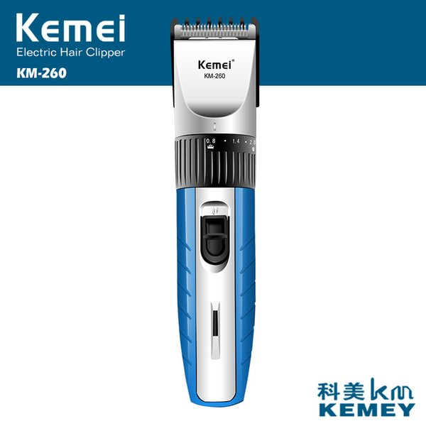 Kemei Electric Hair Clipper Rechargeable Hair Cutting Hair Beard Trimmer Styling Tools Shaving Machine Shaver for Man Barber